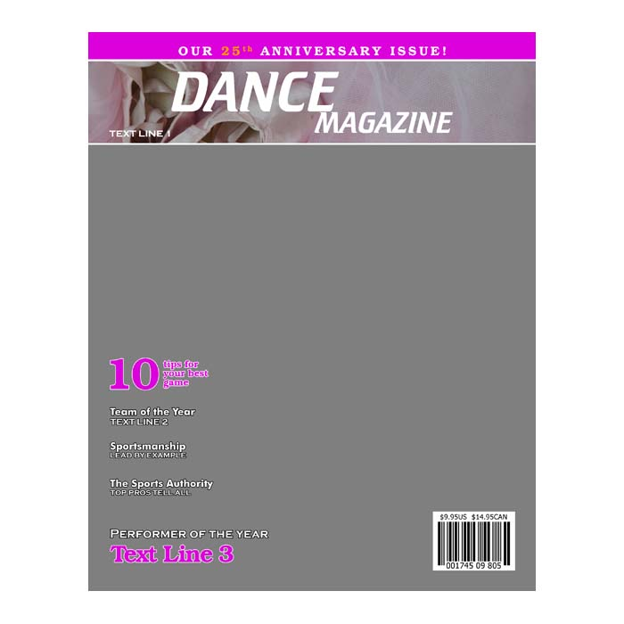 dance product templates