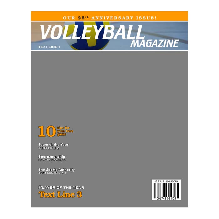 volleyball product templates
