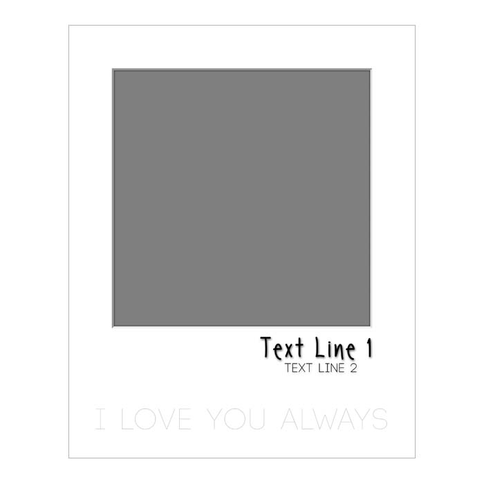 Quotable (I Love You Always) - 8x10