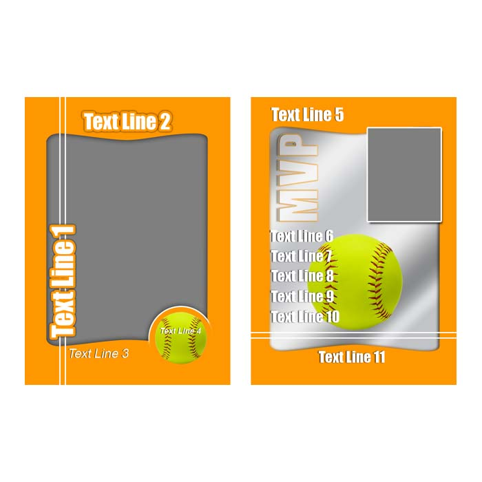 Softball - Orange