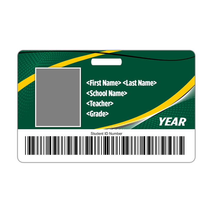 Arches ID Card Theme with barcode