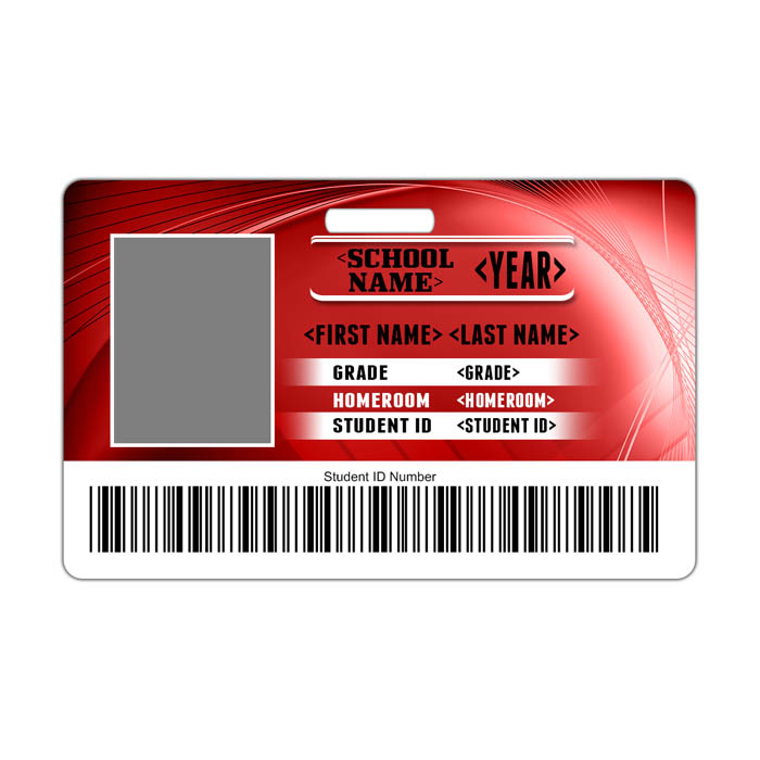 Fusion ID Card Theme with barcode