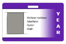 Gradient ID Card Theme