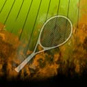 Tennis with fire