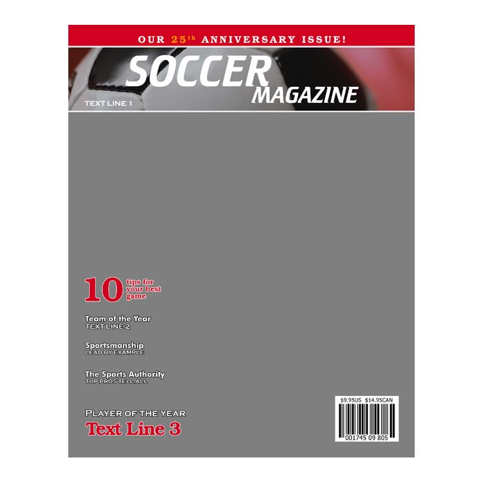 soccer product templates