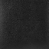 Faux Full Grain Leather - Black