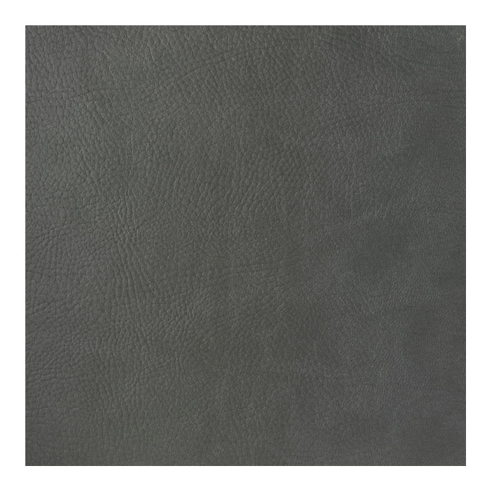 Faux Full Grain Leather - Dark Gray