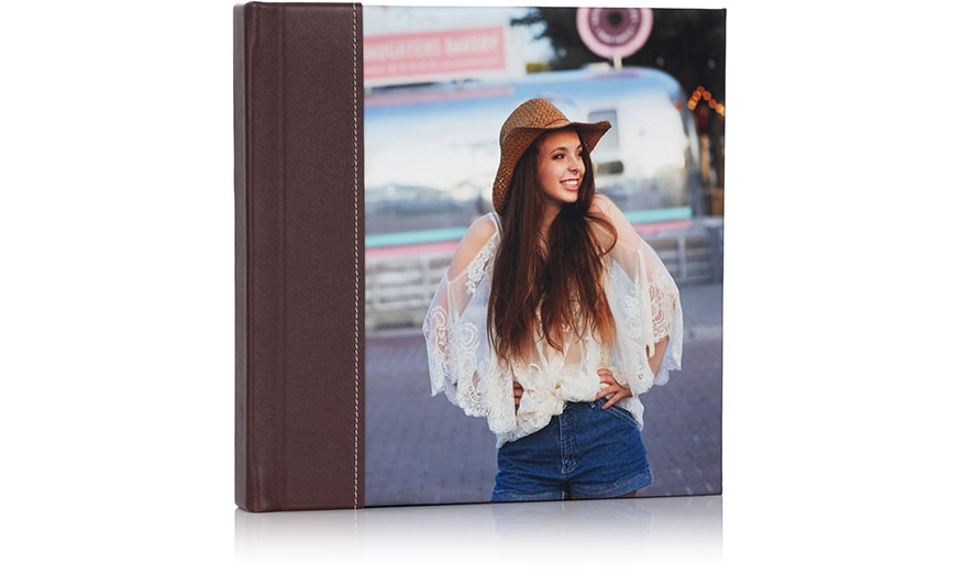 stitched photo cover albums