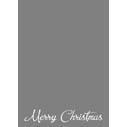 Merry Christmas Script 2 2-Sided or Side Fold 5x7V