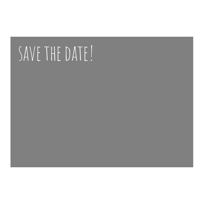 Save The Date - Casual 5x7H 2-Sided
