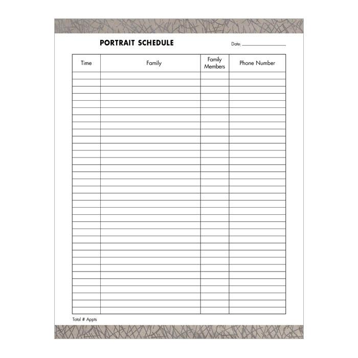 Scheduling Worksheet Worksheets For School - Newpcairport