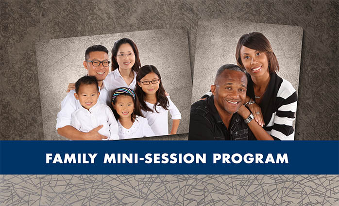 Family Mini Sessions Program
