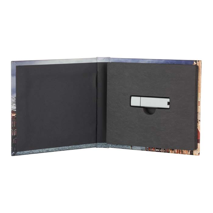 Metal USB Drive-with Photo Cover Case