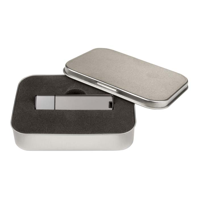 Metal USB Drive-with Tin-Pewter