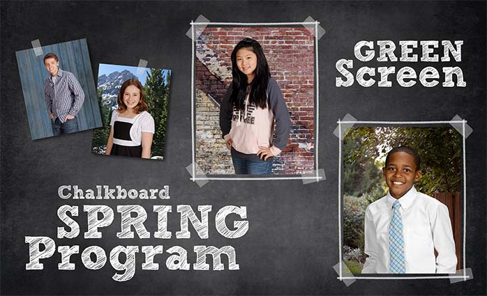 Chalkboard GS Spring Program