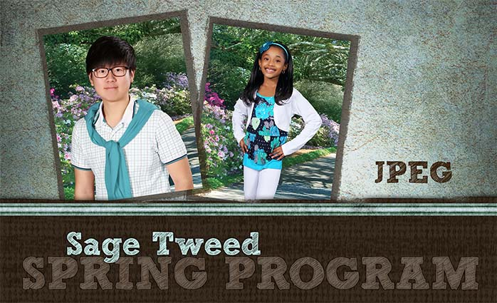 Sage Tweed JPEG Spring Program